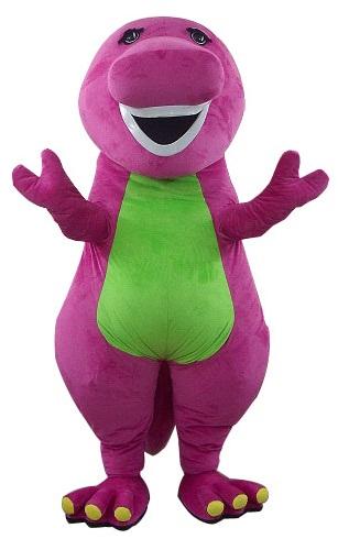 Barney The Dinosaur Event Mascots Costume Hire