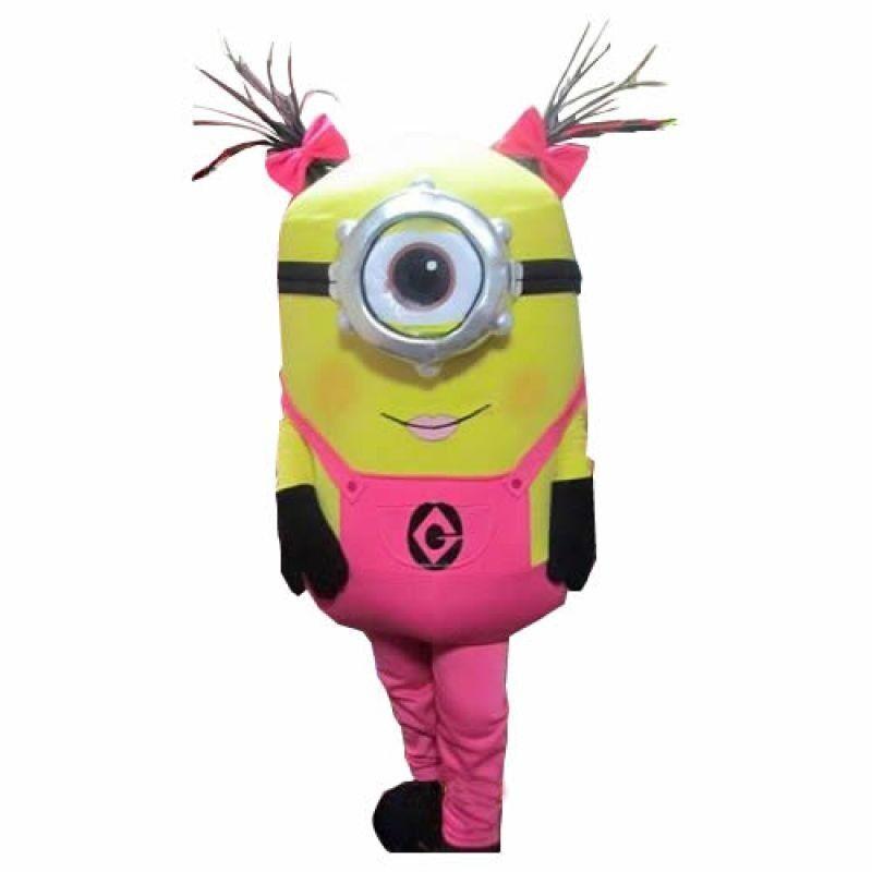 Pink Minion Event Mascots Costume Hire