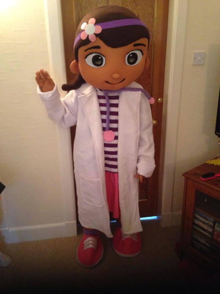Disney Doc Mcstuffins Event Mascots Costume Hire