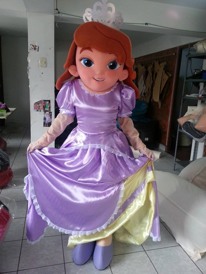 Disney Sofia The First Princess Sofia Event Mascots
