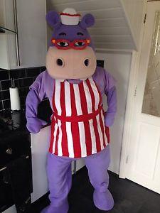 Disney Doc Mcstuffins Hallie Hippo Event Mascots Costume Hire