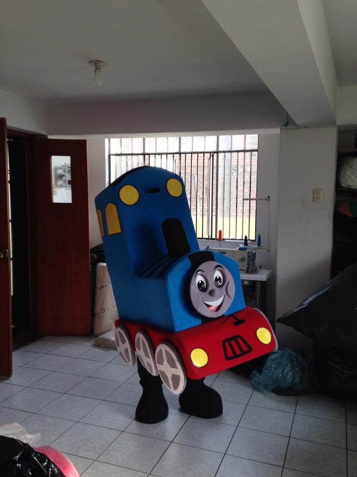 Tank Engine Event Mascots Costume Hire