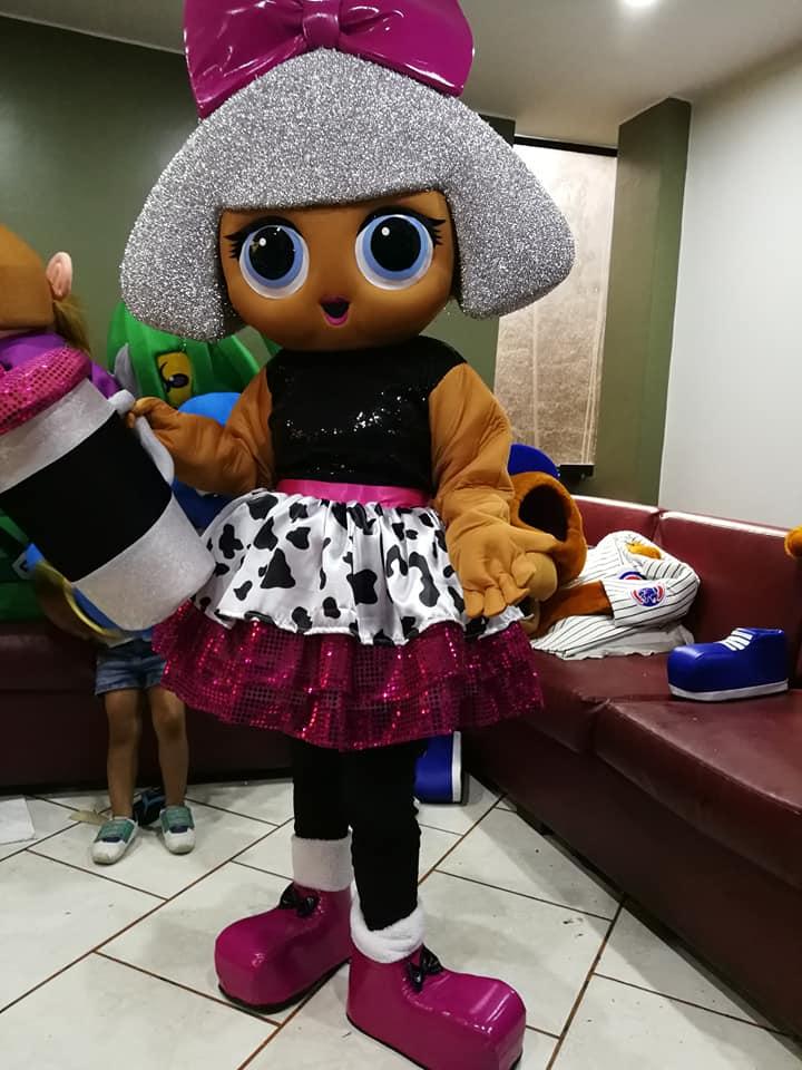 187710350a4d6 LoL Surprise Doll Mascot - Event Mascots Costume Hire