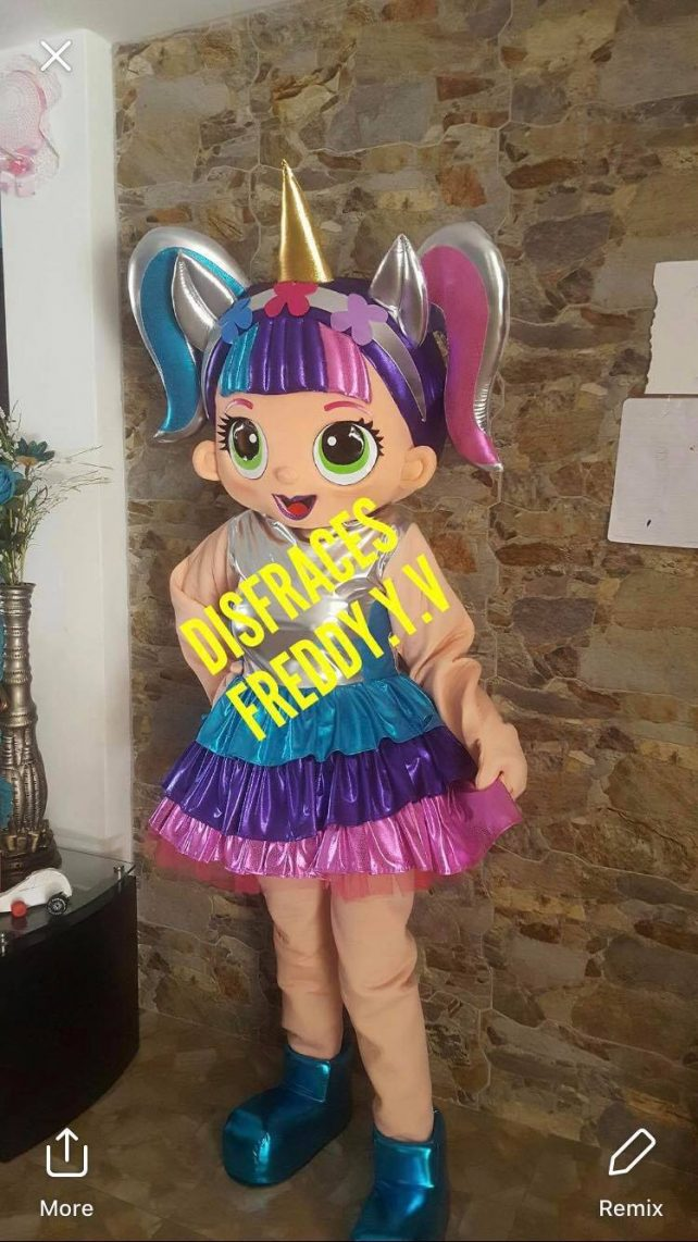Queen Bee Lol Surprise Doll Event Mascots Costume Hire