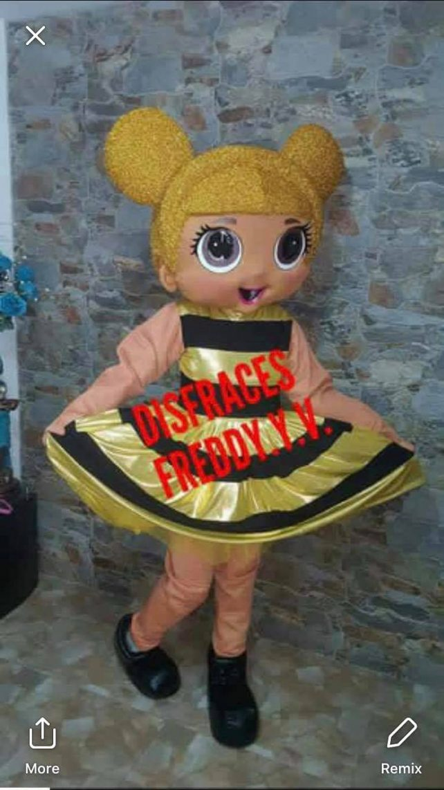Lol Surprise Doll Mascot Event Mascots Costume Hire